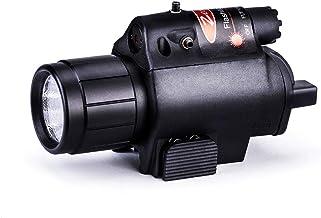 Randonn/ée Lampe Imperm/éable Urgence Tir Marchant Incluse Rechargeable Batterie Id/éal pour Camper Lampe Torche Tactique de Torche de LED-1200LM Avec Le Bati de Fusil de anon et Le bati Lat/éral
