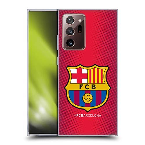 Head Case Designs Oficial FC Barcelona De Medio Tono 2017/18 Crest Carcasa de Gel de Silicona Compatible con Galaxy Note20 Ultra / 5G
