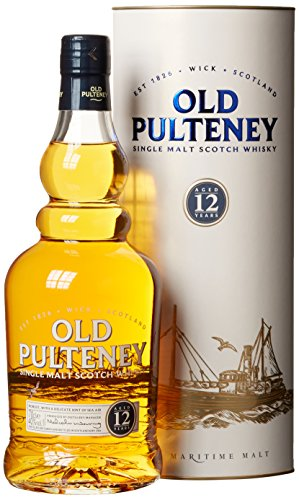 Old Pulteney Highlands Single Malt Whisky 12 Jahre (1 x 0.7 l)
