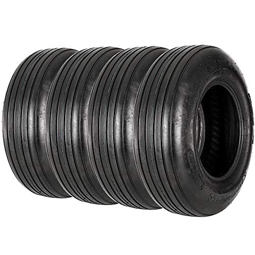 VANACC 9.5L-15 Tractor Tires 8PR Tubeless R-1 Agricultural Farm implement Tire 9.5-15 Set of 4