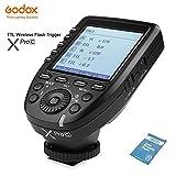 Godox XPro-C TTL 2.4Gワイヤレス高速同期1/8000 sフラッシュトリガートランスミッターXシステムE-TTL高速トリガーfor Canon EOSカメラ