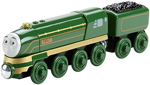 Mattel Fisher-Price DFW78 - Verkehr, Thomas und Seine Freunde Schnittige Emily, Holz