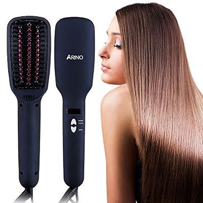 Haarglätter Bürste ARINO Keramische