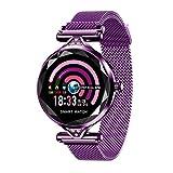 LJMG Smart Watch, Bluetooth H1 Mode Mode, Moniteur De Fréquence Cardiaque, Bracelet De Remise en...