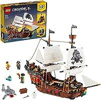 LEGO Creator 3-in-1 Piratenschip 31109 speelgoedmodel bouwset speelset (1.260 onderdelen)
