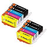 EBY Compatibles HP 364 XL 364XL Cartuchos de Tinta para HP Photosmart 5510 5515 5520 5524 6510 6520 7510 7520 7515 HP Officejet 4620 HP Deskjet 3070A C5388 D5460 B010a B111a B109a B209a B210a
