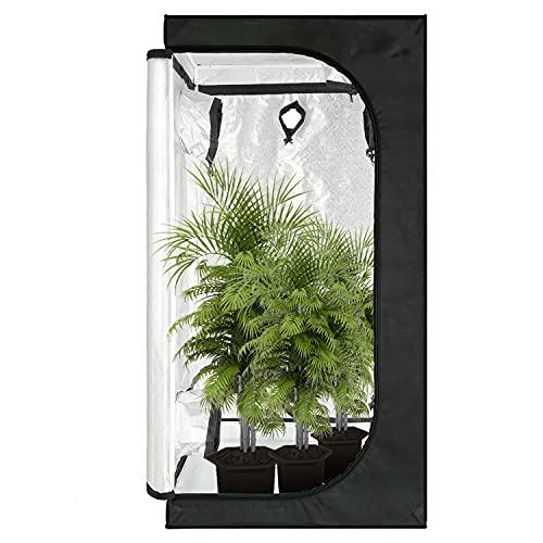 80x80x160 CM GA Grow Tent [Metal Corner Pieces] with [Observation Window] &...