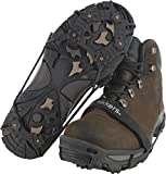 ICETrekkers Spikes Traction Cleats (1 Pair), Small/Medium (Men's 3.5-7.5/Women's 5-9)