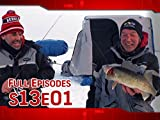 North by Northwest Angle Ice Walleyes