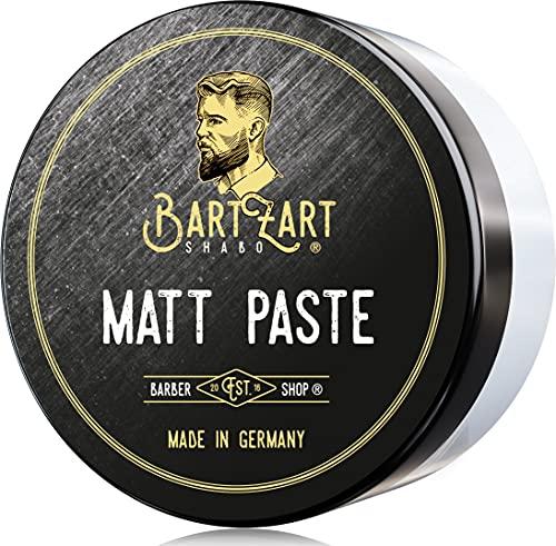 Cera para el pelo BartZart, 100 ml, pasta mate para un peinado perfecto con una fuerte sujeción, cera para el cabello para hombres, pomada de peinado para más volumen en el cabello