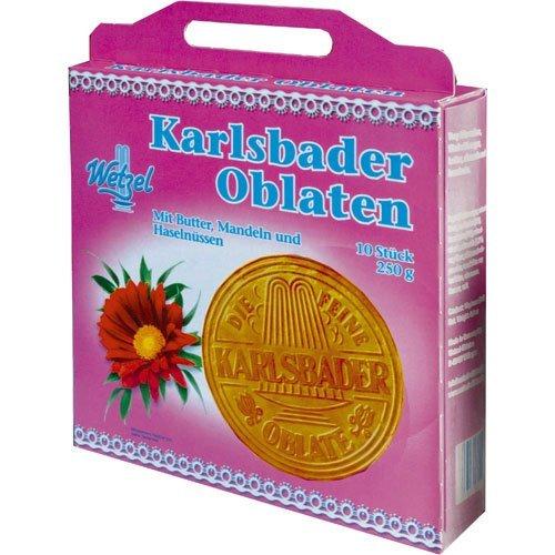 Wetzel Karlsbader Oblaten Köfferchen 250 g