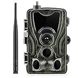 SIWEI Mini-Jagdkamera Full HD 1080P, wasserdichtes IP56, Weitwinkel-Sichtfeld-Gaming-Kamera mit Bewegungsmelder, Nachtsicht-Beutekamera