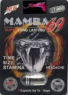 Mamba 69 12000 3D AND SEXTACY (COMBO)- 20Pills Male Enhancement Pill - PLUS LOVE POTION PEN