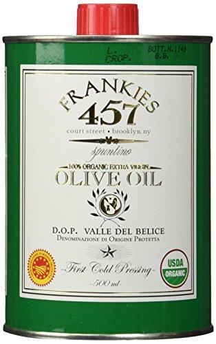 Frankies Organic Extra Virgin Olive Oil, 16.9 Fluid Ounce