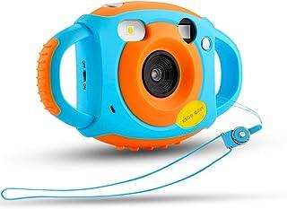 LOISK Cámara Portátil Cámara 1080P 500W Digital Pantalla HD con Carcasa Silicona Suave para Niños Juguetes Niña