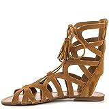 Jessica Simpson Karalia Women's Sandal (10, Brown)