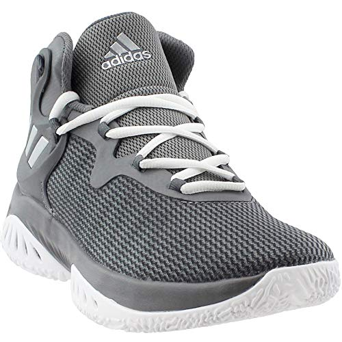 adidas Explosive Bounce Shoe – Men's Basketball 5.5 Grey/Silver Metallic
