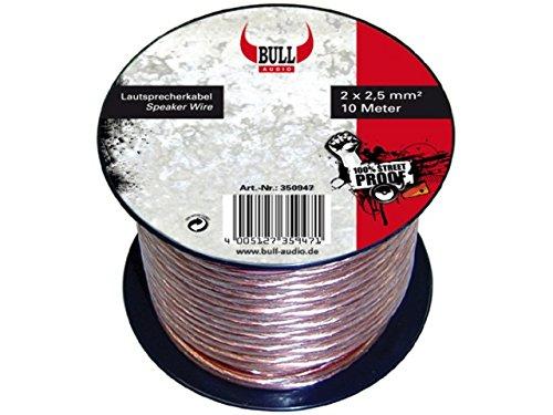 AIV 350947 Bull Audio LS Kabel 2X2,5QMM 10M