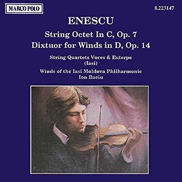 Enescu: String Octet, Op. 7 / Dixtuor for Winds, Op. 14