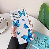 ZTOFERA Butterfly Case for Samsung A52, Butterfly Pattern