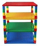 Strictly Briks Premium-Set für Turm-Konstruktionen - 4 Bauplatten & 48