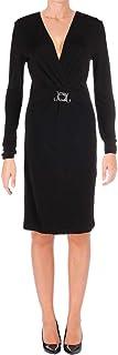 Just Cavalli womens Just Cavalli Womens V-neck Jersey Dress Dress