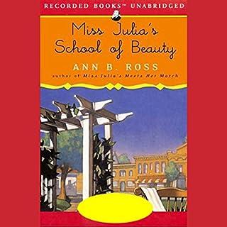 Miss Julia's School of Beauty audiobook cover art