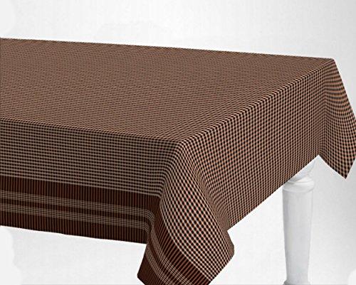 De'Carpet Mantel Antimanchas Resinado Hule Teflon Cenefa Pañuelo Farcell (100x140cm)