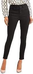 Jeans De Femme Taille Stretch Mode Haute Crayon Ca