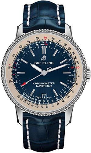 Breitling Navitimer A17325211C1P1 - Reloj automático para hombre con esfera azul