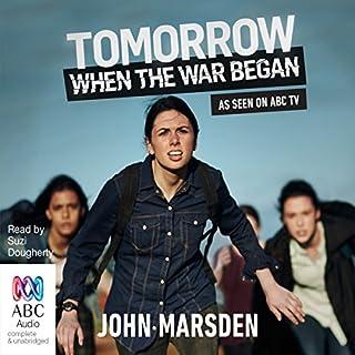 Tomorrow, When the War Began audiobook cover art