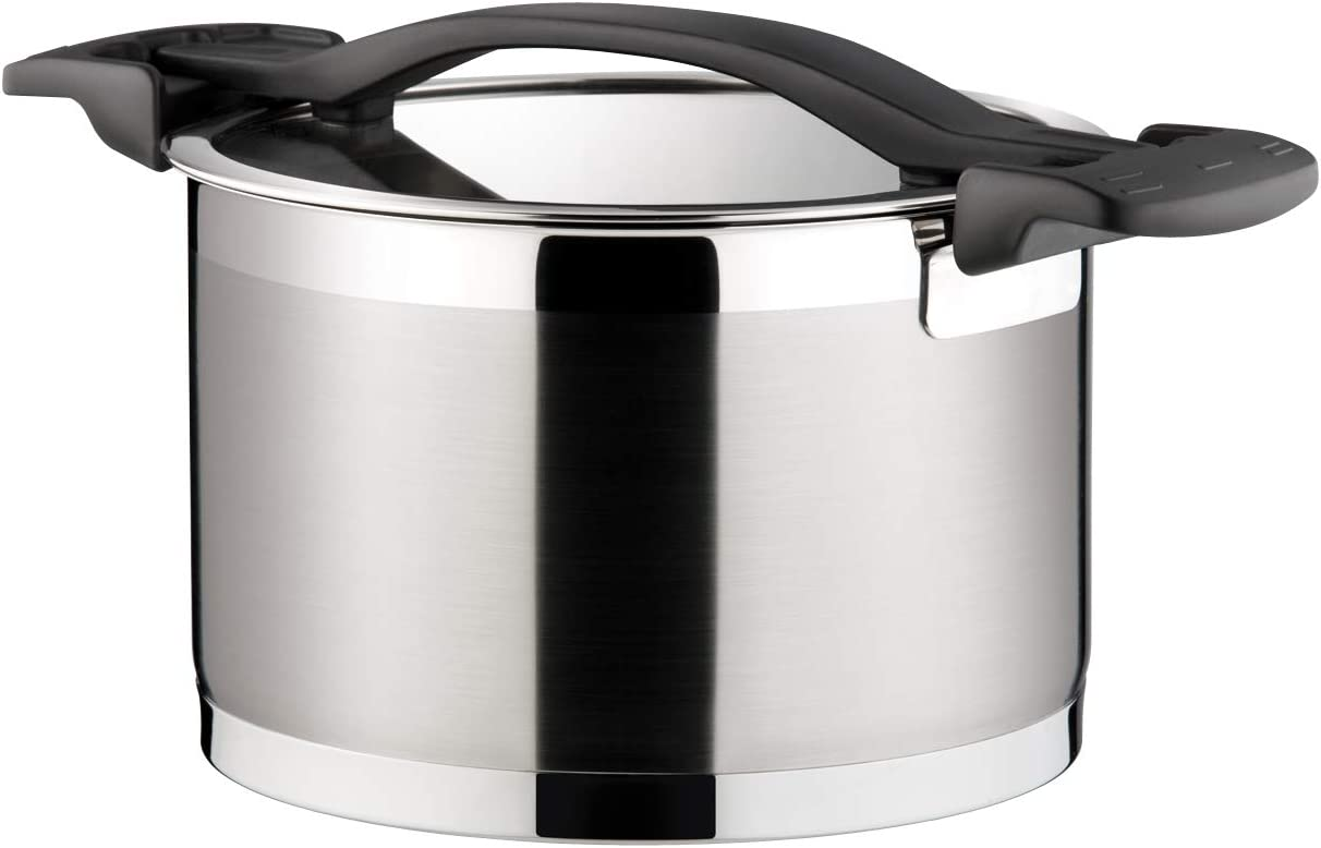 Tescoma Deep Pot with Max 44% OFF Cover Ø 20 Tampa Mall Assorted L 4.0 3 cm Ultima