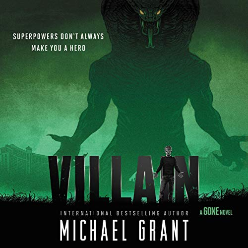 Villain Audiobook By Michael Grant cover art