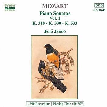 MOZART: Piano Sonatas, Vol. 1 (Piano Sonatas Nos. 8, 10 and 15)