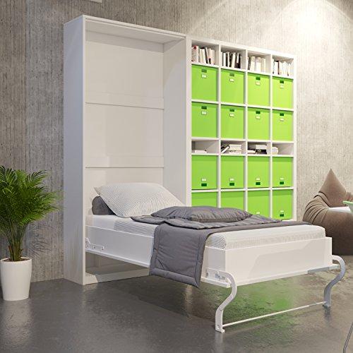 Cama plegable de 90cm vertical color blanco cama plegable &a
