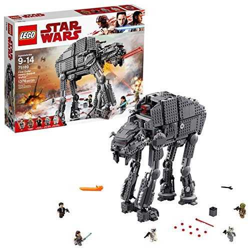 First Order Heavy Assault Walker Marcheur LEGO Star Wars 75189 (1376 pièces) - 0