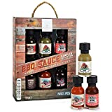 Modern Gourmet Foods, BBQ Sauce Collection, Variety 6 Pack, Flavours Include Root Beer BBQ Sauce, Jalapeno Wing Sauce, Tangy BBQ Sauce, Bourbon BBQ Sauce, Habanero Wing Sauce and Kansas City BBQ Sauce