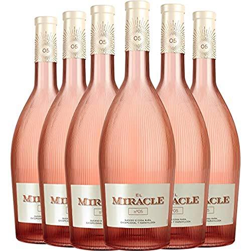 El Miracle Nº 5 Vino Rosado D.O. Valencia 6 Botellas - 750 ml