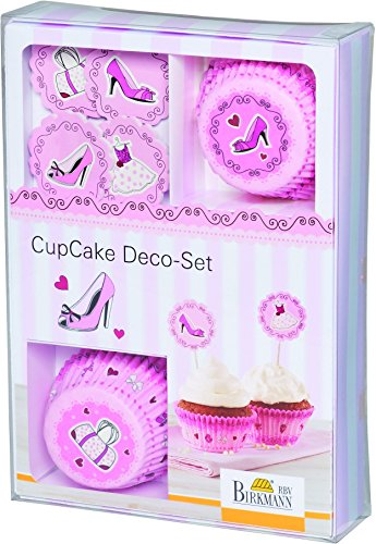 RBV Birkmann 441743 Cup Cake Deco-Set in The City