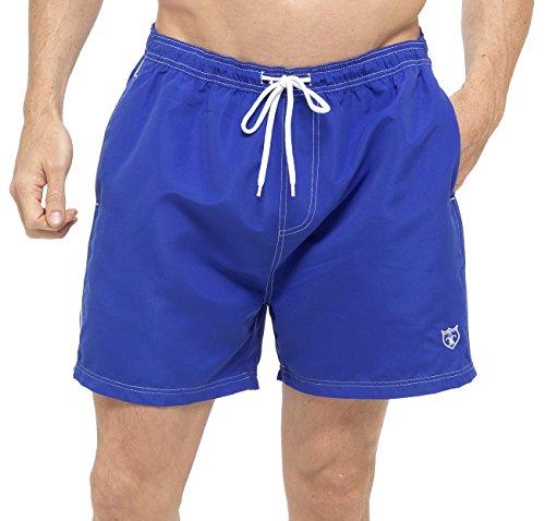 Tom Franks - Short de bain - Homme - Bleu - Medium