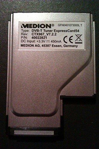 DVB-T Notebook TV-Karte ExpressCard AVerTV Hybrid Nano Express HC82 / 54 mm Analog-TV