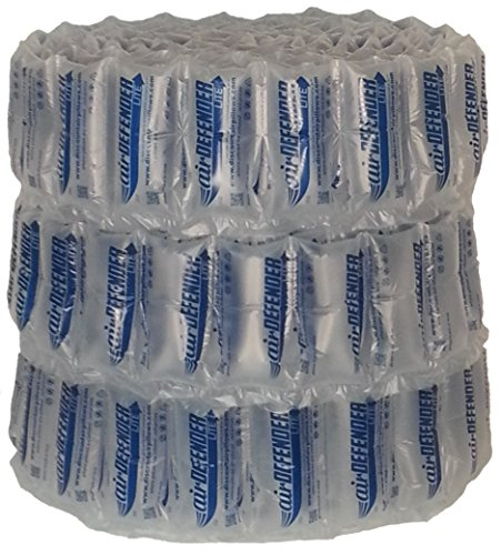 320 Count 4x8 airDEFENDER Air Pillows 39.5 Gallons 5.25 Cubic Feet Void Fill Cushioning for Packing Packaging Shipping