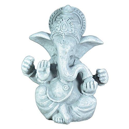 Zen Light SBG Figur Ganesh grau Stein 8x 6x 12cm