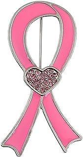 sticks jewelry La Lucha contra el SIDA Pink Ribbon Cinta roja Broche Regalos promocionales directos de fabrica para preven...