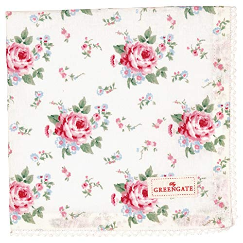 GreenGate - Serviette - Stoffserviette - Marley - Blumen - Baumwolle - 40 x 40 cm
