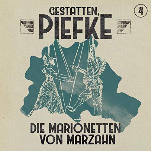 Page de couverture de Die Marionetten von Marzahn