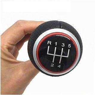 1 set di 6 pomelli del cambio di marcia per auto con pomello del bastone Kit telaio del telaio per VW Passat B6 2005-2012. Pomello del cambio