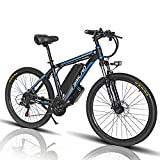 1000W Elektrofahrrad 26Zoll E-Bike Mountainbike, Abnehmbare 48V/13Ah Batterie...