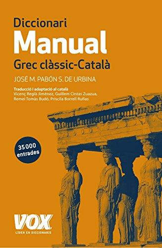 Diccionari Manual Grec clàssic-Català (Vox - Lenguas Clás