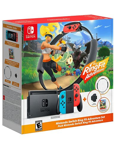 Nintendo Switch + Ring Fit Adventure Bundle - Bundle Limited - Switch